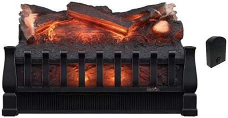 Duraflame 20-in Electric Log 10%OFF Fire Combo Set Crackler 人気上昇中