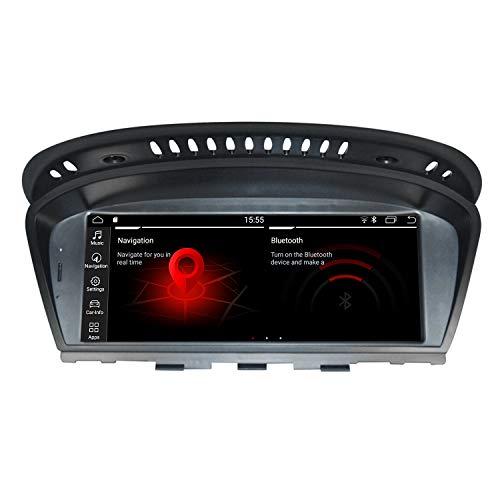 Android e60 e61, E63, 8,8 pulgadas pantallas pantala 4 + 32g reproductor automático de medios audiovisuales GPS navegación para BMW 3 - 5 (2007 - 2010) computadora central multimedia CCC