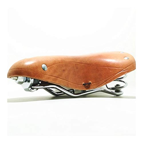 Review Of NOLOGO Yg-ct Retro Vintage Bicycle Saddle Pure Cowhide Handmade Seat Custion Bike Sport Sa...