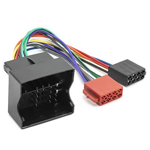 Auto Radio DIN ISO Adapter Kabel Anschluss Stecker für BMW 5er (E39 E60 E61)