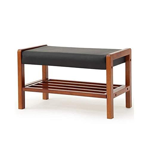 CENPEN Zapatero para pasillo, zapatero, zapatero, zapatero de madera, banco de almacenamiento, mueble organizador de zapatos, pasillo de 60 x 33 x 36 cm
