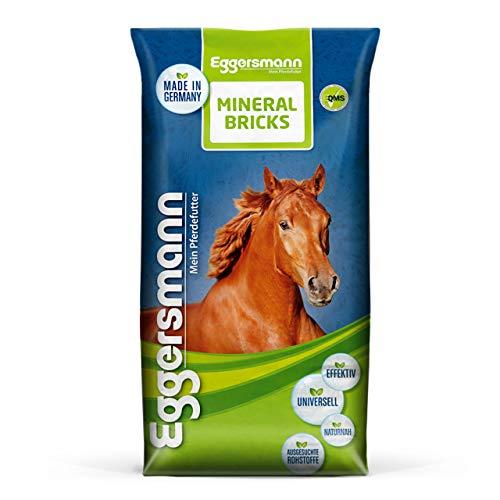 Eggersmann Mineral Bricks – Mineralfuttermittel für Pferde – Futter zur Vorbeugung von Nährstoffmängeln – 25 kg Sack