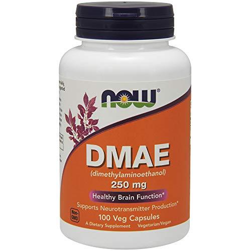 Now Foods | DMAE | 100 vegane Kapseln | ohne Gentechnik | glutenfrei