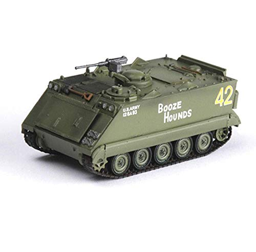 CMO Maqueta Tanque de Guerra, Vehículo blindado de Asalto M113 Vietnam 1969 el Plastico Militares Escala 1/72, Juguetes y Regalos, 2.8 X 1.4 Pulgadas