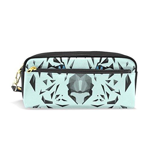 BENNIGIRY Tiger - Estuche escolar para lápices, bolígrafos, bolígrafos, cosméticos, bolsa de maquillaje para mujeres y niñas, bolsa de papelería duradera de gran capacidad