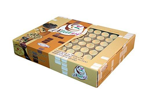 Tartellette commestibili da farcire tonde Micro 30 mm Vitarvi 48 unità Mundo Pastel