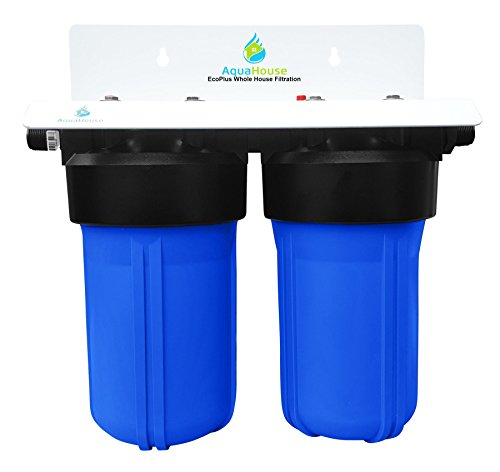EcoPlus Ganzes Haus Wasserfilter System & Enthärtungsanlage Salzfreier Wasserenthärter, Geprüft 99.6% Effektive Kalk Verhinderung