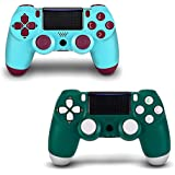2 Pack PS4 Wireless Controller - AGAMEPAD PS4...