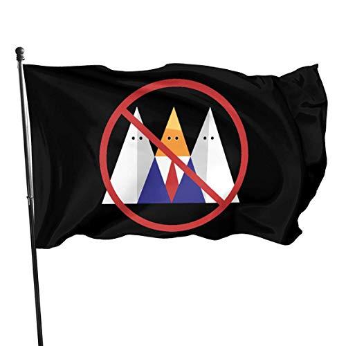 BHGYT No Trump No KKK Flagge 3x5 FT Dekorationen PartyzubehörFlaggen für Home House Outdoor Indoor Decor