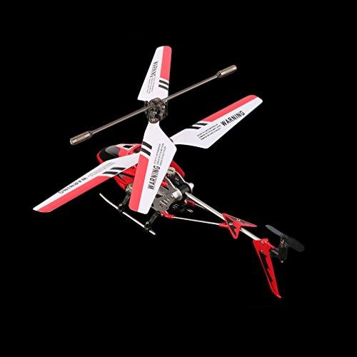 SYMA S107G Coole neue Mini Hubschrauber mit Kreiselsteuerung Remote Control RC (Rot)