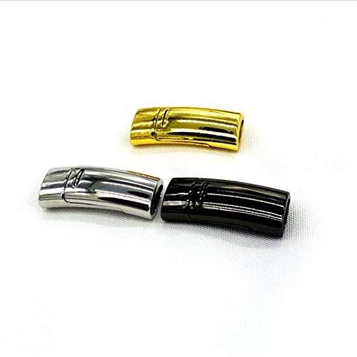 Magnetische Schnürsenkel Buckle Elastic Shoelaces Verschluss Kein Tie Fauler Schnürsenkel Accessoires 1 Paar Silber