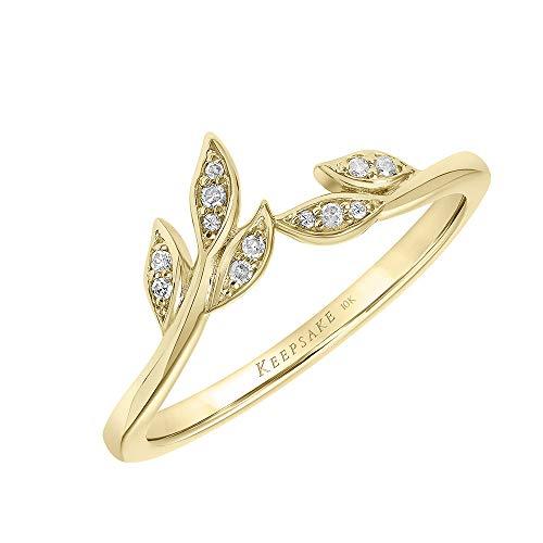 Diamond Leaf Ring for Women by Keepsake