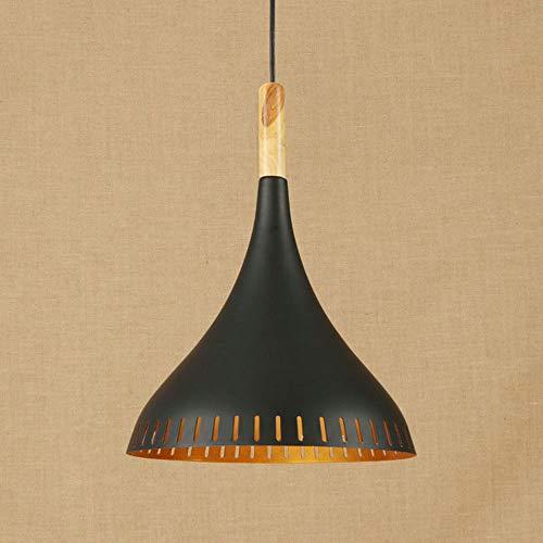 The only good quality interieur hanglamp zwart van het ijzeren land, Amerikaanse land diameter 30 cm, hoge verlichting van de kandelaar 32 cm
