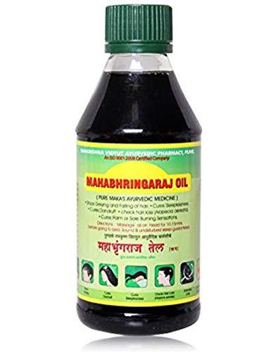 Mahabhringraj Scalp hair Massaging Oil, 200 ml