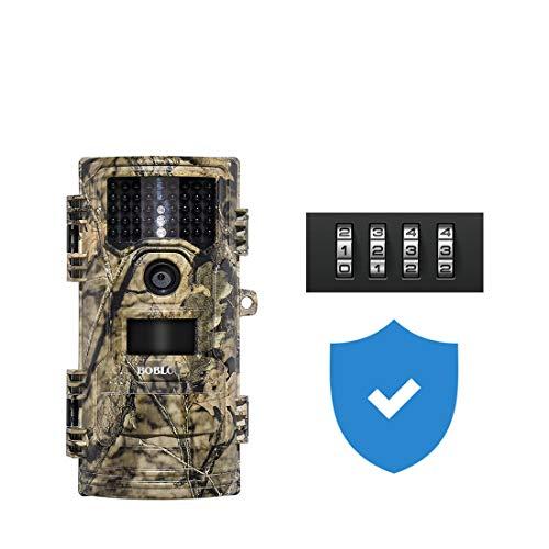 Caméra de Chasse 20MP 1080p (30 Images par Seconde) avec lumière Invisible de 940 nm, caméra de Chasse étanche de Nuit
