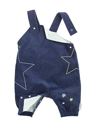 Sterntaler Jungen Latzhose für Babys und Kleinkinder,Blau (Marine),74