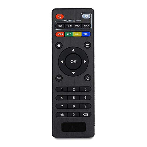 PABREY Original Replacement Remote Control Controller for MXQ, MXQ 4K, MXQ PRO, MXQ PRO 4K, H96, M8, M8N, T95, T95M, T95N Android TV Box IPTV (Manual Included)