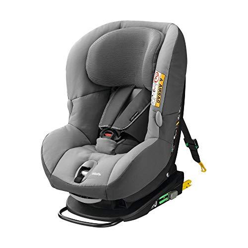 Bébé Confort MiloFix Silla de auto, de 0 a 4 años, 0-18 kg, gris (Concrete Grey)