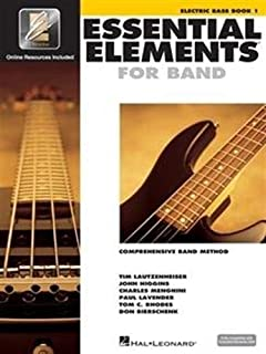 Essential Elements 2000: Book 1 with CD-ROM (Electric Bass)