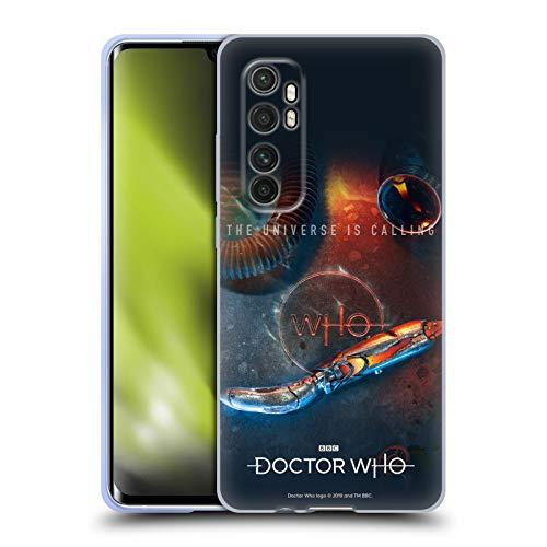 Head Case Designs Licenciado Oficialmente Doctor Who Destornillador sónico Temporada 11 Key Art Carcasa de Gel de Silicona Compatible con Xiaomi Mi Note 10 Lite