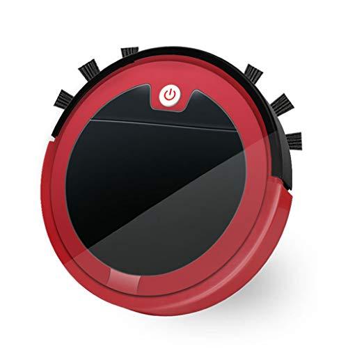 Ys-s Shop-Anpassung 2800pa weise Staubsauger 3-in-1 Multifunktionsroboter-Staubsauger-elektrischer Kehrmaschine Haushalts-Radiocommunication-Staubsauger (Color : Dark Red, Size : A)
