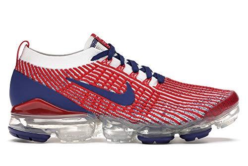 Nike Air Vapormax Flyknit 3 USA Men's Sz. 9 Red/White/Blue CW5585 100