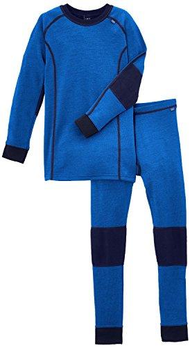 Helly Hansen Warm Kinder Set Thermo Unterwäsche, Kinder, 48659, Kobaltblau, 16 Jahre
