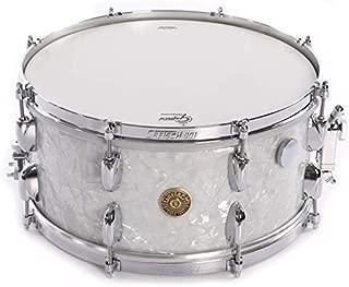 Gretsch USA Custom 6.5x14 Retro Snare Drum 60's Vintage Marine Pearl