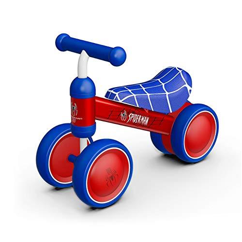 AMYDREAMSTORE Equilibrio Bicicletas Bicicleta del bebé, Ni?o Patinetes Ni?o Walker de Patinetes Infantil 4 Ruedas Ni?o Sin Pedal-G 35x48cm(14x19inch)