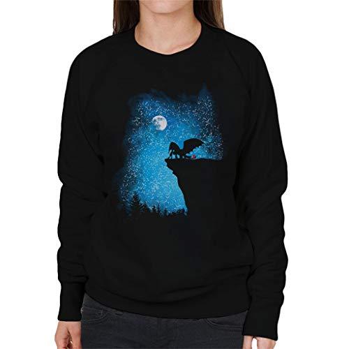 Nightfall Hoe om te trainen uw Dragon Women's Sweatshirt
