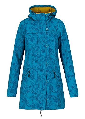 Blutsgeschwister Damen Wild Weather Parka, Tropical Shades