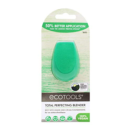 Ecotools Perfecting Blender, Makeup Beauty Sponge, For Liquid + Cream Foundations