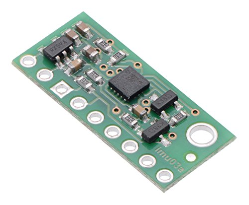 Pololu LSM6DS33 3D Accelerometer and Gyro Carrier with Voltage Regulator (Item: 2736)