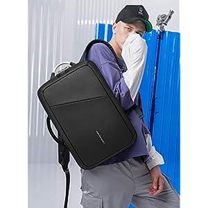 4135rRRDg8L. SS300  - FANDARE Moda Mochila Hombres Laptop USB Charging Port Bolsa de Mano Commuter Estudiante Outdoor Viaje Anti-Theft…