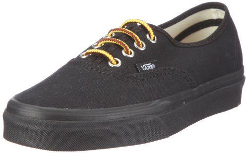 Vans Authentic, Scarpe da Skateboard Unisex Adulti, Nero Oz Canvas Black Black, 35 EU