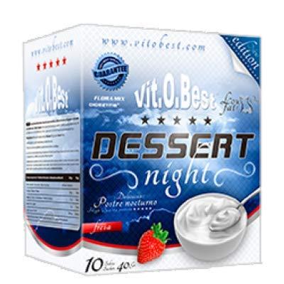 DESSERT NIGHT VAINILLA 10 SOBRES 40 g - Suplementos Alimentación y Suplementos Deportivos - Vitobest