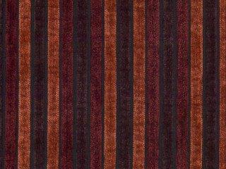 Möbelstoff Stage Stripe Farbe 4058 (weinrot, orange, braun) - modernes Chenille-Flachgewebe (gestreift, Gemustert), Polsterstoff, Stoff, Bezugsstoff, Eckbank, Couch, Sessel, Hussen, Kissen