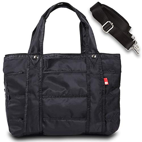 [Surmonter] マザーズバッグ トートバッグ レディース 大容量 ママバッグ 3層タイプ 旅行バッグ ナイロン 軽量