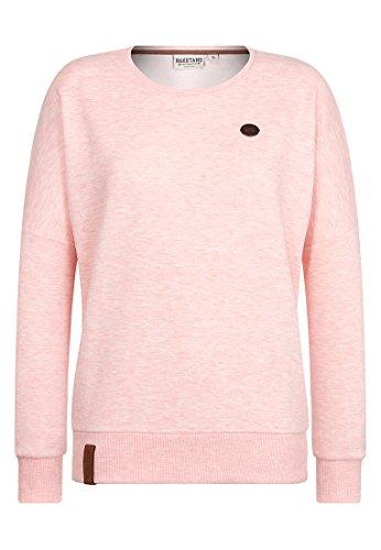 Damen Sweater Naketano 2 Stunden Sikis Sport III Sweater XS Candy Muschi Melange