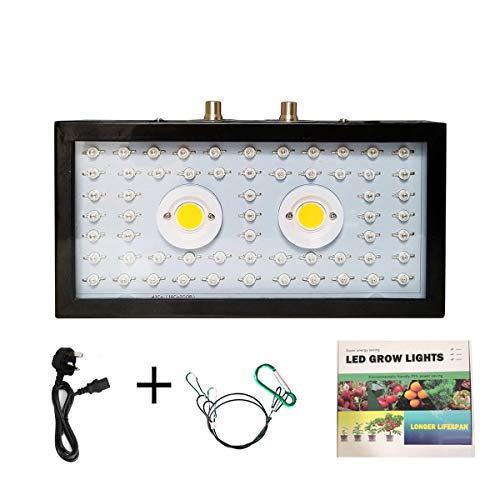 Greatangle Piante LED coltiva la Luce Spettro Completo 1000W Doppio Chip Rosso/Blu/UV/IR Striscia Luminosa Lunga per Piante da Interno Veg Bloom