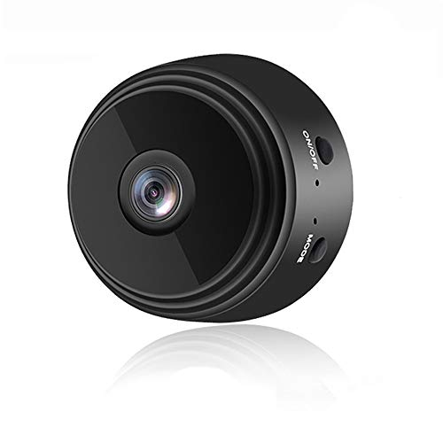 NEFRIA Mini Camera WiFi Wireless Video Camera 1080P HD Small Home Security Surveillance Cameras with 32G SD Card,Portable Tiny Nanny Cam with Night Vision Motion Detection for Car Indoor Outdoo