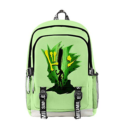 rgbh Children's Backpacks HUNTER×HUNTER Printed School Bag Student Backpacks Lightweight School Bag Casual Daypack L
