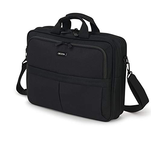 Dicota Top Traveller Notebooktasche 43,9 cm (17,3 Zoll) Messenger Hülle schwarz