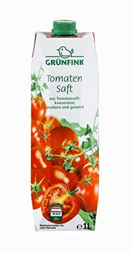 Grünfink Tomatensaft, 8er Pack (8 x 1 l)