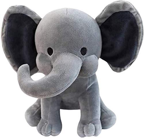Plüsch Spielzeug Elefant Puppe, lange Nase Plüsch Elefant Puppe, lockige Nase Gefüllte Tier, Reizende Spielzeugkissen, Kinder Weihnachtsfeiertag Party Tischdekoration Geschenk, Kinder Haustier Geschen