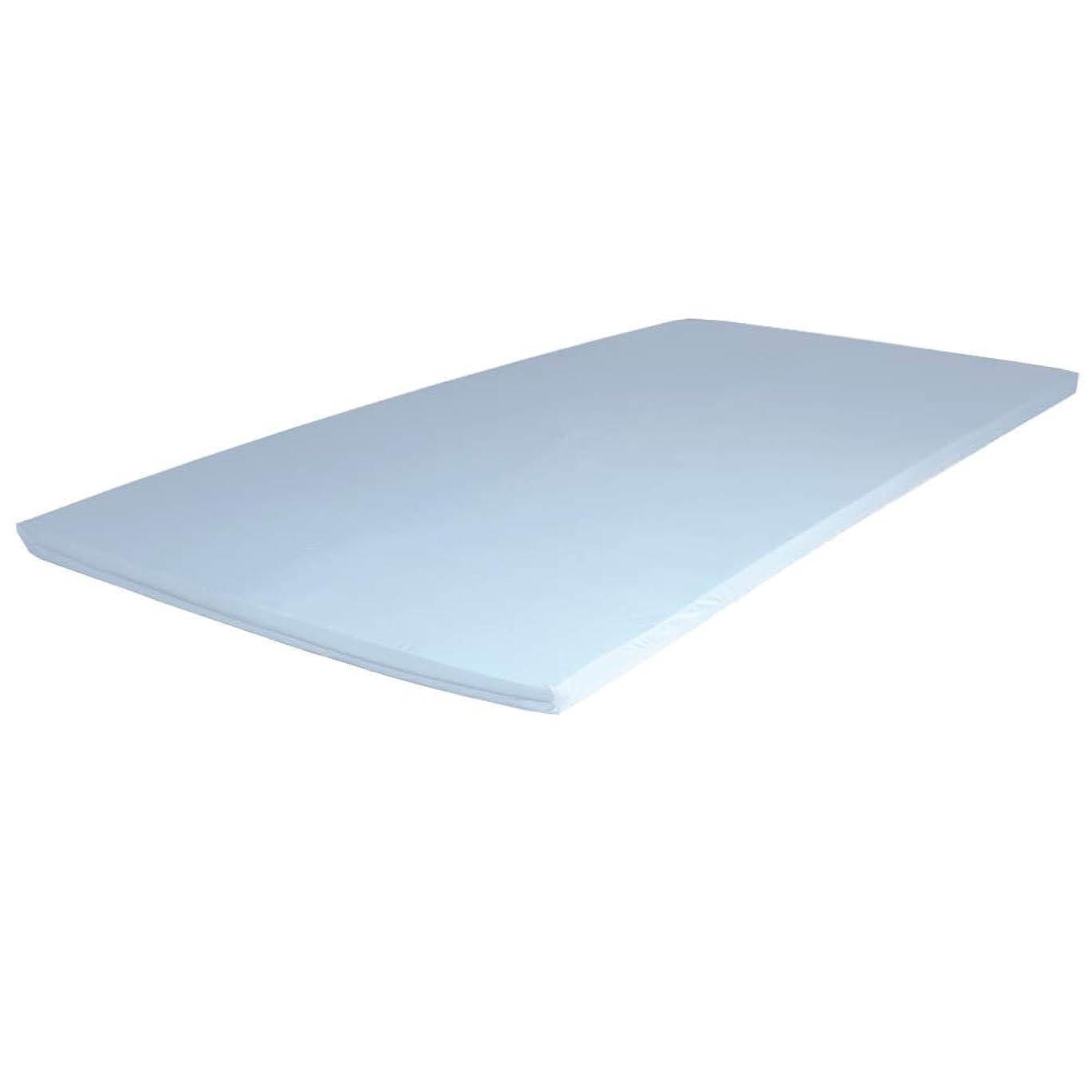 努力氏解凍する、雪解け、霜解けエイプマンパッドPAD5 高反発 ふとん 厚み5cm シングル ライトグレー 90日返品保証ありモデル