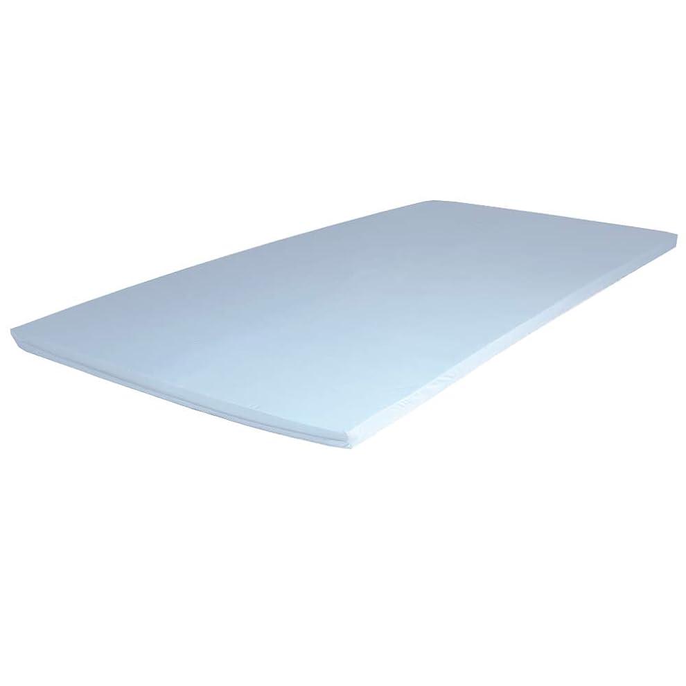 感度範囲平和的エイプマンパッド PAD5 高反発マットレス ダブル 厚み5cm ライトグレー