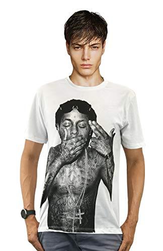 LIL Wayne Free Weezy Young Money Cd Hip Hop Rebirth T-shirt 100% Cotton Shirt (M)