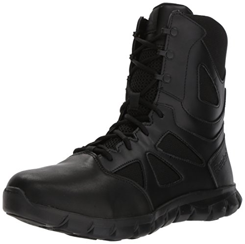 Reebok Men's Sublite Cushion Tactical RB8805 Military & Tactical Boot, Black, 11 M US