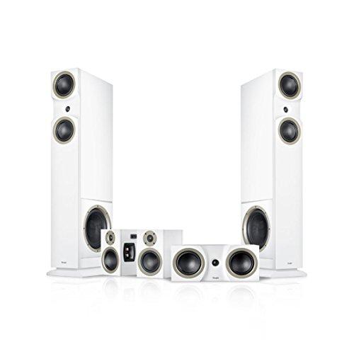Teufel Theater 6 Hybrid 5.2 5.1Kanäle Weiß Lautsprecherset - Lautsprechersets (5.1 Kanäle, Heimkino, Weiß, MDF, AV-Receiver, D)